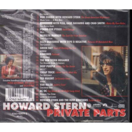 AA.VV. CD Howard Stern: Private Parts OST Soundtrack Sigillato 0093624647720
