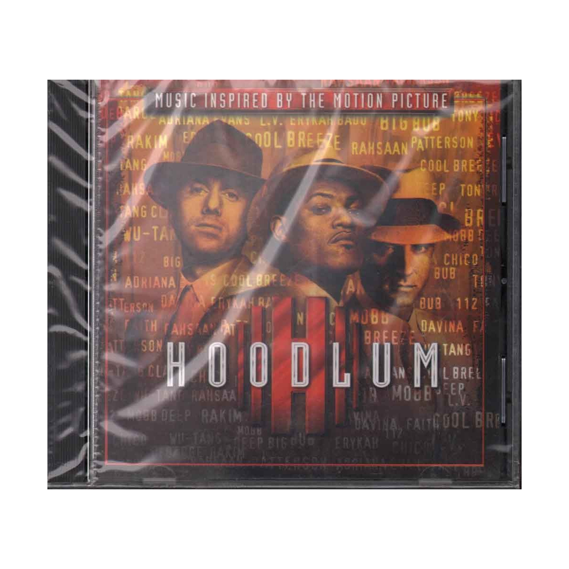 AA.VV. CD Hoodlum  OST Soundtrack Sigillato 0606949013127