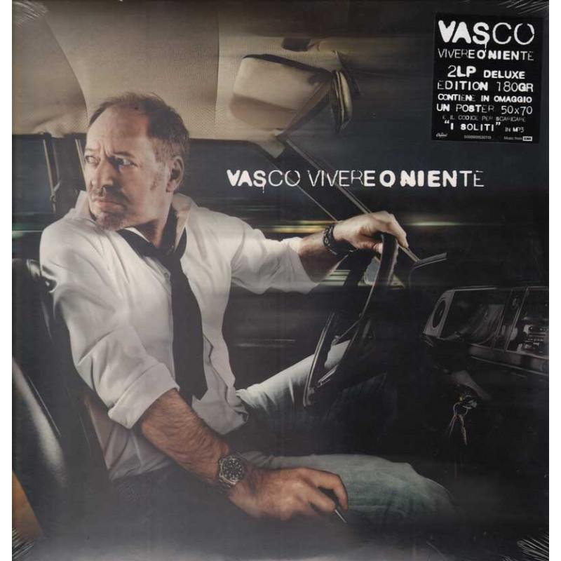Vasco Rossi LP Vinile Vivere o Niente Limited Ed Numurata I° Stampa 2011 Sig 5099909530119
