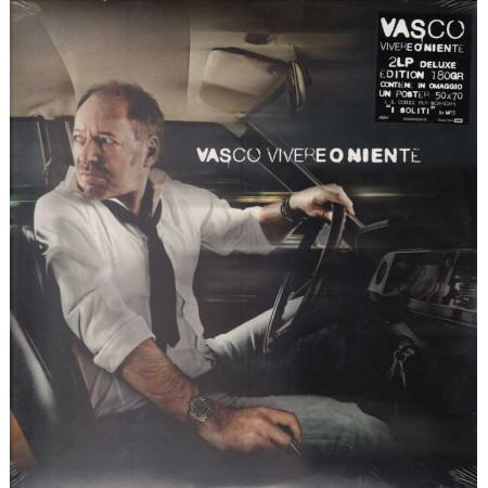 Vasco Rossi LP Vinile Vivere o Niente Limited Ed Num I° Stampa 2011 Sig 5099909530119