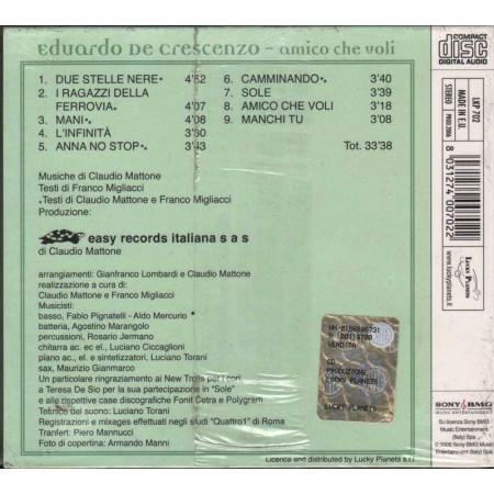 Edoardo De Crescenzo CD Amico Che Voli Digipack Nuovo Sigillato 8031274007022