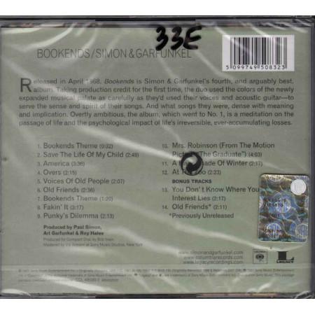 Simon And Garfunkel CD Bookends Nuovo Sigillato 5099749508323