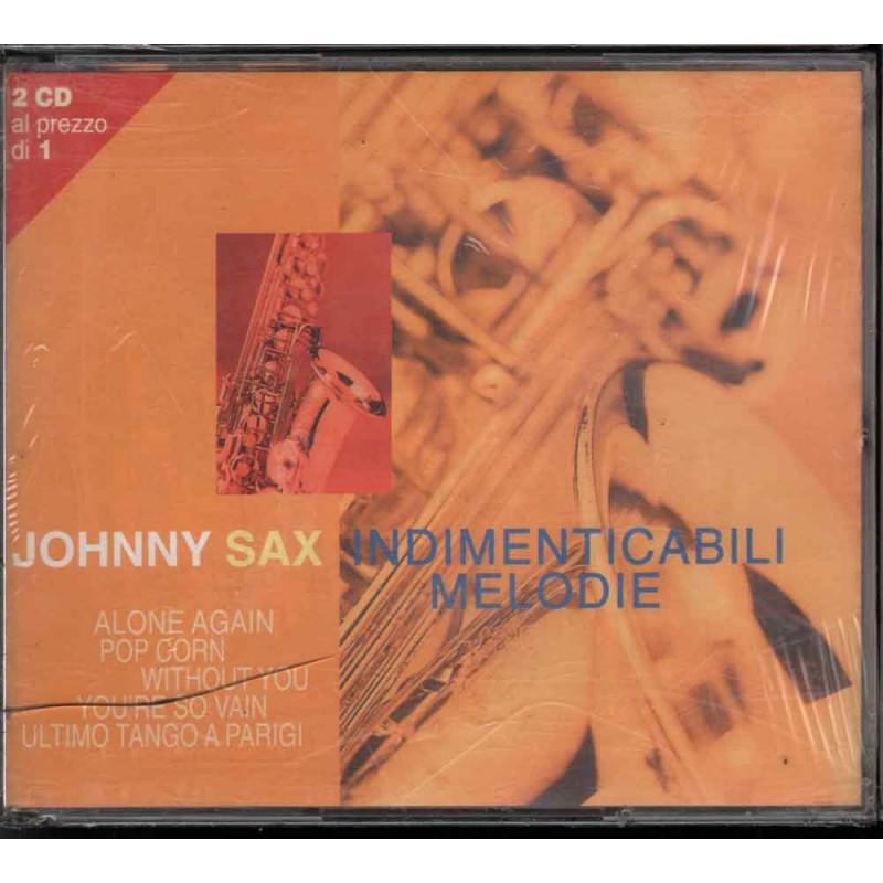 Johnny Sax 2 CD Indimenticabili Melodie Nuovo Sigillato 8012842021824