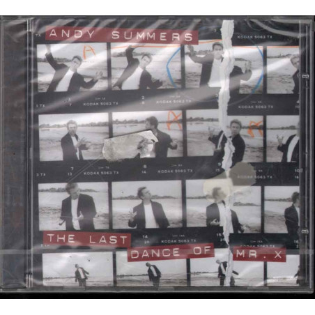 Andy Summers ‎CD The Last Dance Of Mr X Sigillato 0090266893720