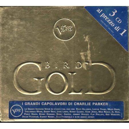 Charlie Parker 3 CD Bird Gold - Digipack Nuovo Sigillato 0602498458471