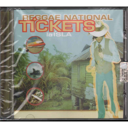 Reggae National Tickets CD La Isla Sigillato 0743216719921