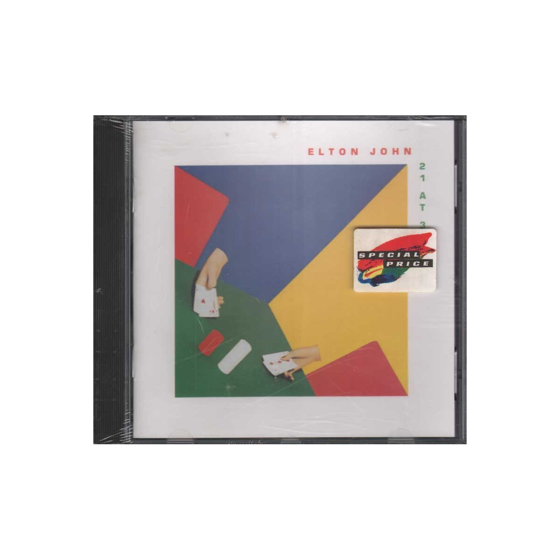 Elton John CD 21 At 33 Germania Nuovo Sigillato 0042280005528