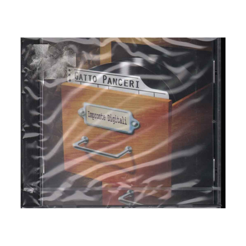 Gatto Panceri CD Impronte Digitali Nuovo Sigillato 0731452862228