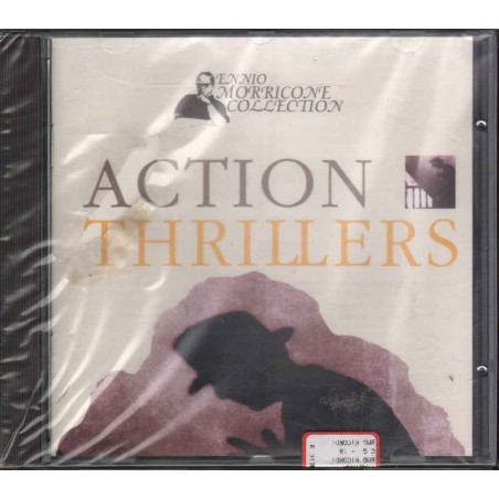 Ennio Morricone CD Ennio Morricone Collection - Action Thrillers OST Soundtrack Sigillato 0743212544329