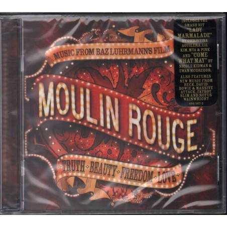 AA.VV. CD Moulin Rouge OST Soundtrack Sigillato 0606949050726