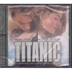James Horner CD Titanic OST Soundtrack Sigillato 5099706321323