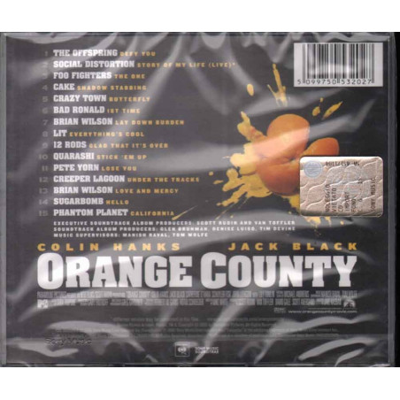 AA.VV. CD Orange County OST Soundtrack Sigillato 5099750532027