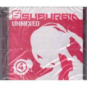 AA.VV. 2 CD Suburbia Unmixed 4 Nuovo Sigillato 8032484020863
