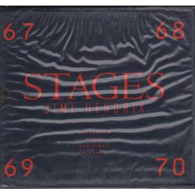 Jimi Hendrix COFANETTO 4 CD Stages Nuovo Sigillato Raro 0731451176326
