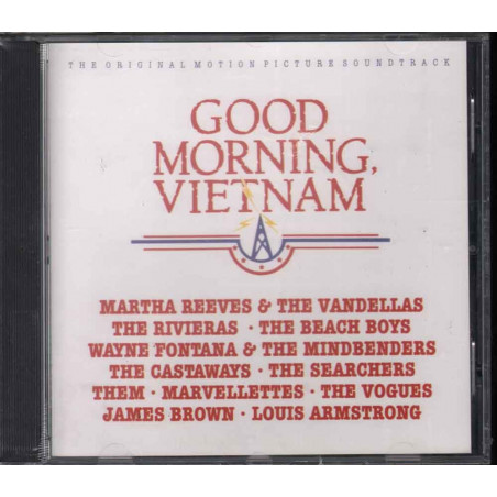 AA.VV. CD Good Morning, Vietnam OST Soundtrack Sigillato 0082839696920