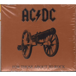 AC/DC - For Those About To Rock We Salute You Columbia 5099751076629