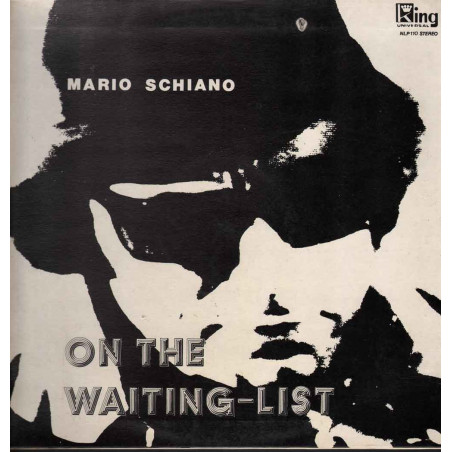 Mario Schiano Lp 33giri On The Waiting-List Nuovo