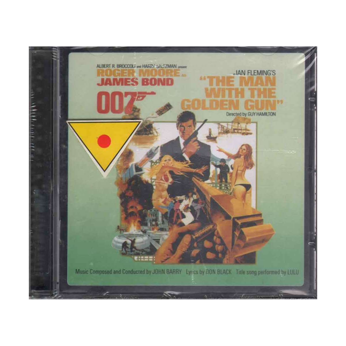 John Barry CD The Man With The Golden Gun OST Soundtrack Sigillato 0724354142420