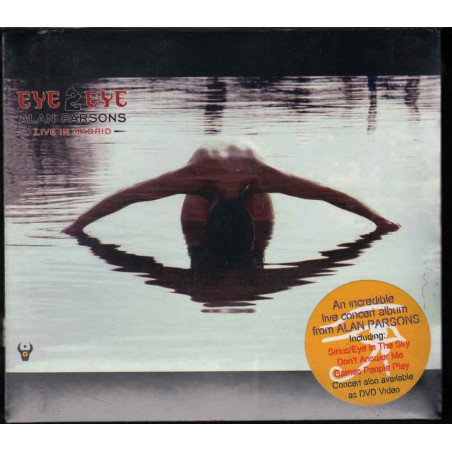 Alan Parsons CD Eye 2 Eye (Live In Madrid) Frontiers Digipack Sigillato