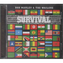 Bob Marley & The Wailers CD Survival Nuovo Sigillato 0731454890120