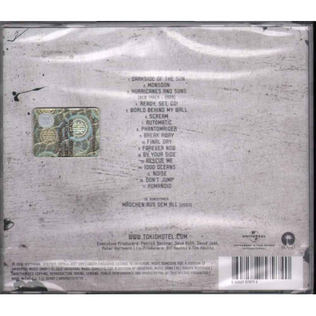 Tokio Hotel ‎CD Best of English Version Island Records ‎0602527579740