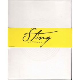 Sting 25 years COFANETTO DA 3 CD + 1 DVD Nuovo Sigillato Raro 0602527760223