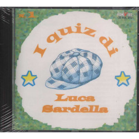 Luca Sardella CD I Quiz Luca Sardella N. 1 / Promovideo Sigillato Raro