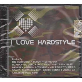 AA.VV. DOPPIO CD I Love Hardstyle Nuovo Sigillato 8032484013797