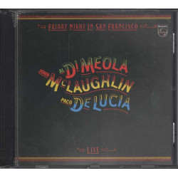 McLaughlin Al Di Meola De Lucía CD Friday Night In San Francisco 0042280004729