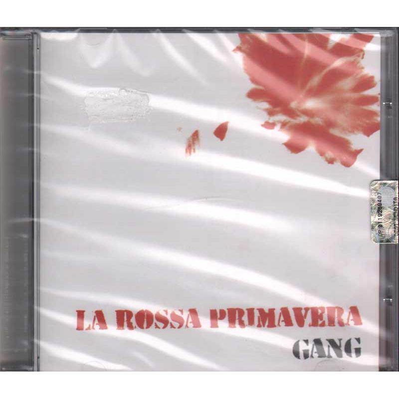 Gang cd rossa primavera latlantide lat 092 sigillato - La porta rossa colonna sonora ...