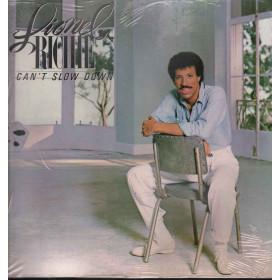 Lionel Richie Lp Vinile Can't Slow Down / Motown ZL 72020 Sigillato