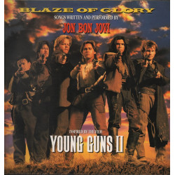 Jon Bon Jovi Lp 33giri Blaze Of Glory‎ OST Soundtrack Nuovo 0042284647311