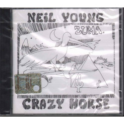Neil Young With Crazy Horse CD Zuma Nuovo Sigillato 0075992722629