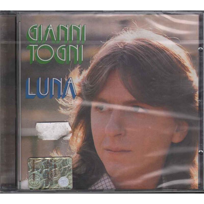 Gianni Togni CD Luna Nuovo Sigillato 0685738134427