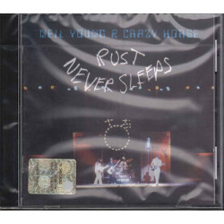 Neil Young & Crazy Horse CD Rust Never Sleeps / Reprise 7599-27249-2 Sigillato
