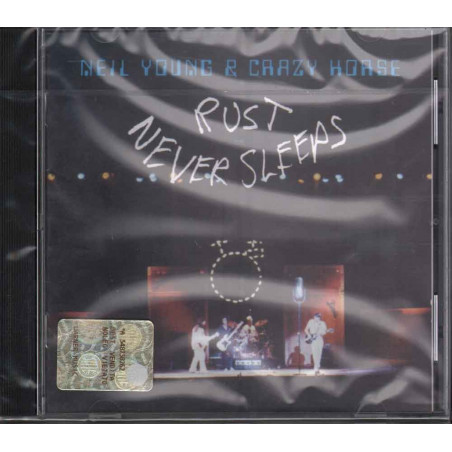 Neil Young & Crazy Horse ‎– Rust Never Sleeps Sigillato 0075992724920