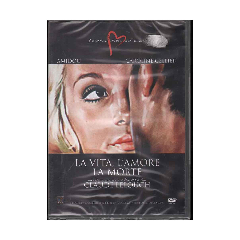 La Vita, L'Amore, La Morte DVD Lelouch Claude Sigillato 8032442204106