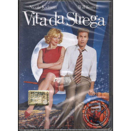 Vita Da Strega DVD Nicole Kidman / Shirley Maclaine / Will Ferrell Sigillato 8013123006332