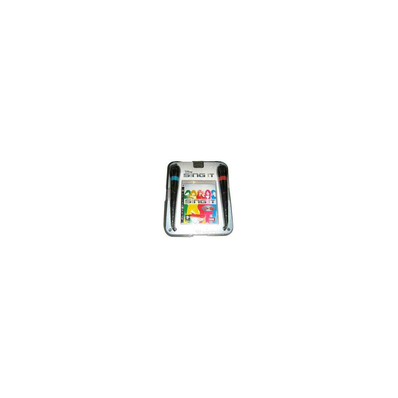 Disney Sing It! Camp Rock Hannah Montana + Microfoni Playstation 3 PS3 Sigillato 8717418186494