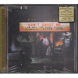 Elton John ‎‎CD Don't Shoot Me I'm Only The Piano / Mercury ‎Sigillato