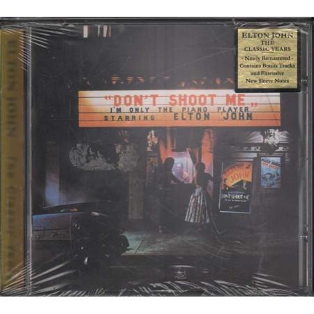 Elton John CD Don't Shoot Me I'm Only The Piano / Mercury Sigillato