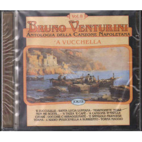 Bruno Venturini CD Antologia Della Canzone Napoletana Vol 8 Sig 8004883226009