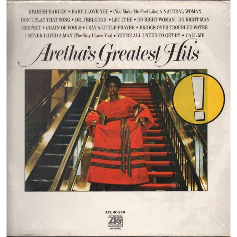 Aretha Franklin Lp 33giri Aretha's Greatest Hits Nuovo Sigillato 0075678145117