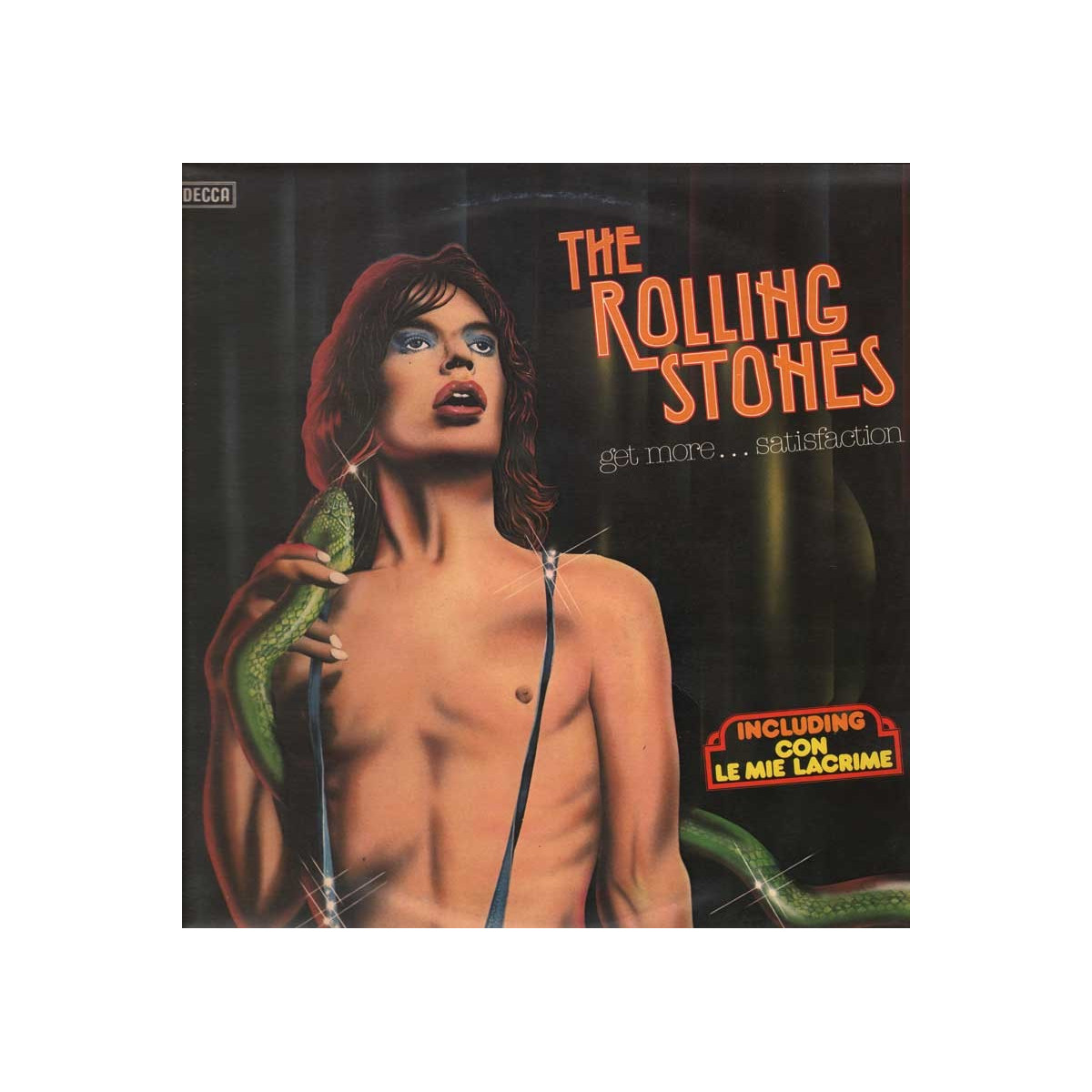 The Rolling Stones Lp 33giri Get More...Satisfaction Nuovo Decca PMS107