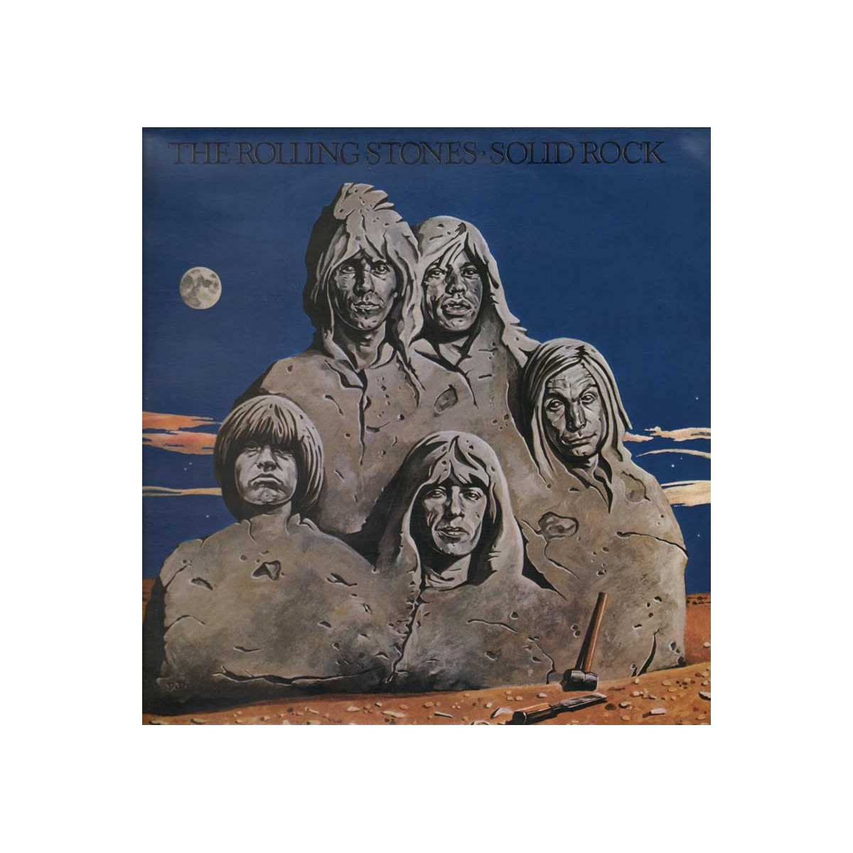 The Rolling Stones ‎‎‎- Solid Rock / Decca TABI 1