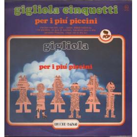 Gigliola Cinquetti Lp 33giri Per I Piu' Piccini Nuovo Record Bazaar  / RB 224