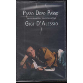 """Gigi D'Alessio -"""" Passo Dopo Passo MC7 Nuovo Sigillato 8026208021649"""