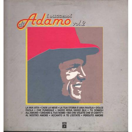 Adamo Lp 33giri I Successi di Adamo Vol. 2 Nuovo 05419101
