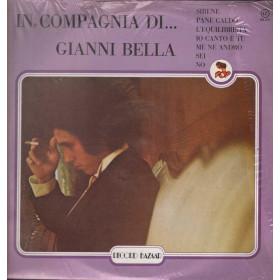 Gianni Bella Lp 33giri In Compagnia Di...Gianni Bella Nuovo Sigillato 000213