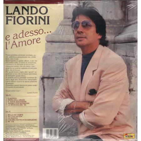 Lando Fiorini Lp 33giri E Adesso... L'Amore  Nuovo Sigillato 8004883887118